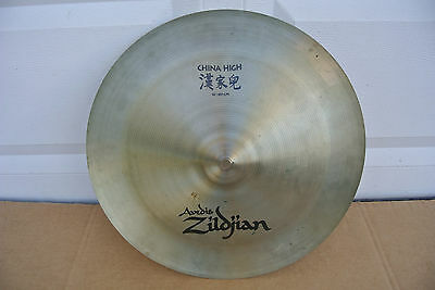 "Avedis ZILDJIAN 16"" 40 cm CHINA HIGH CRASH or EFFECTS CYMBAL 926 grams! #V724"