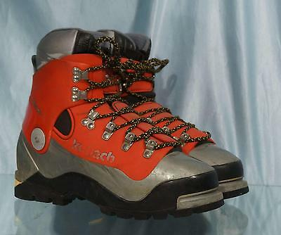 Nice Red & Gray KOFLACH DEGRE Arctic System Mountaineering Boots US 7 EU 6.5