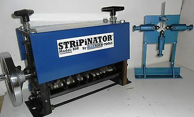 STRiPiNATOR ® MWS-808 & W-L100 Wire Stripping Machine by BLUEROCK ® TOOLS Combo