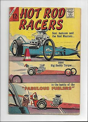 Hot Rod Racers #4 Charlton Comics 1965 VG Condition Complete