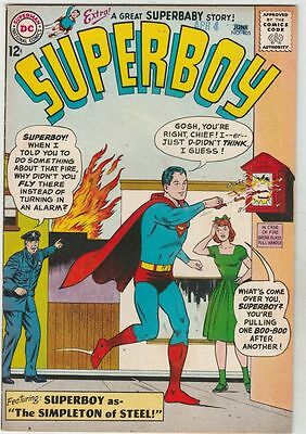 Superboy #105 strict VF/NM- 9.0  High-Grade   Appearance - Baby Lana