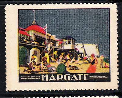 SOUTHERN RAILWAY POSTER STAMP : Margate