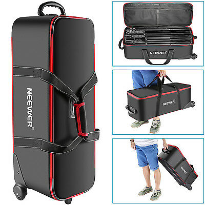 Neewer Photo Studio Equipment Trolley Carry Bag for Light Stand, Tripod