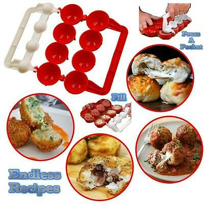 Mighty Meatball Newbie Meatballs Fish Food Pellets Maker Kitchen Cook Tool - LD