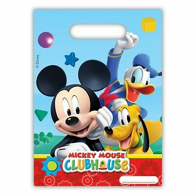 30 Piece Mickey Mouse Goofy Daffy Duck Party Bags - Disney Party Tableware