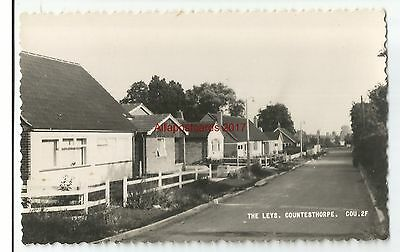 Leicestershire Countesthorpe The Leys Real Photo Vintage Postcard 21.01