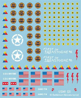 Flames of War - USA: American Decals US941