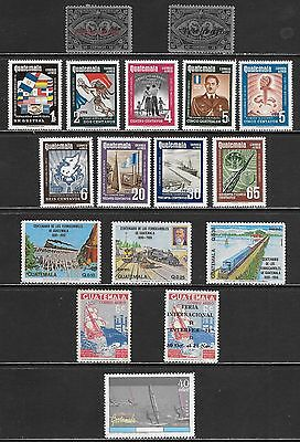GUATEMALA Very Nice All Mint Never Hinged Issues Selection (Feb 0116)