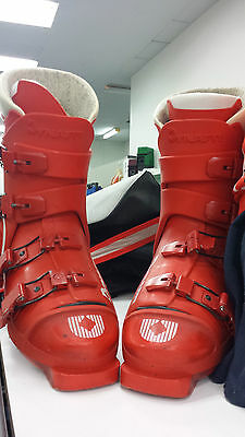Dynafit Red Machine Competition 3F Comp S Men's Red Ski Boots - Men's Size 9.5.