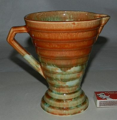 Superb Quality Ribbed Jug - Diana - Mid Century
