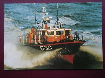 Postcard Lytham St Annes Lifeboat 'sarah Emily Harrop' 47 Ft Tyne Class