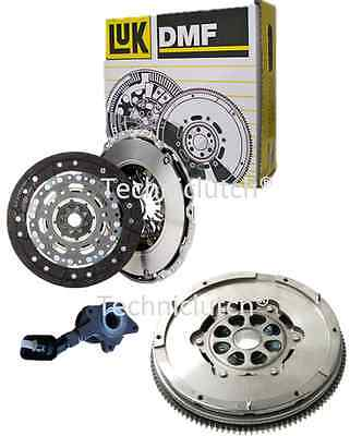 Luk Dual Mass Dmf Flywheel And Clutch Kit With Csc For Ford Mondeo 2.2 Tdci