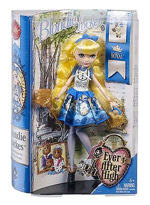Ever After High Dolls - Royal Blondie Lockes Doll - BBD54 - New