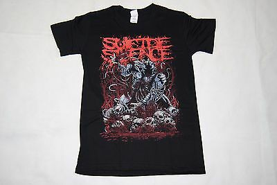 Suicide Silence Disengage T Shirt New Official The Cleansing Black Crown