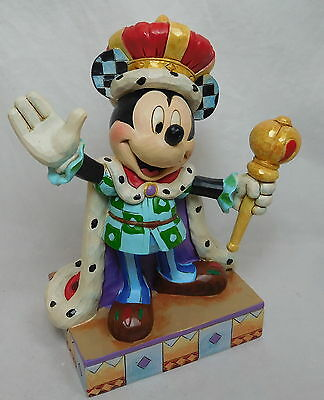 Figur Enesco Disney Jim Shore 4048654 Mickey Mouse King for a Day König