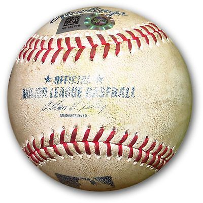 Clayton Kershaw Game Used Baseball 7/31/14 Dodgers Braves Pitch Upton HZ162215