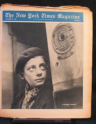 Hungry Europe New York Times Magazine Entire Section 6 November 25, 1945