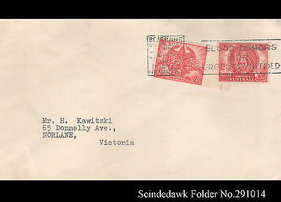 Australia - 1964 Envelope With Stamps Of 1945-Blood Donors Urgently Needed