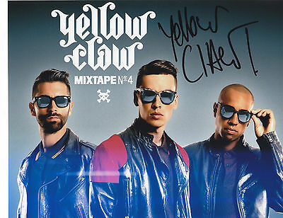Yellow Claw Signed Autograph Dance Music Edm  8X10 Photo Proof  Till It Hurts #3