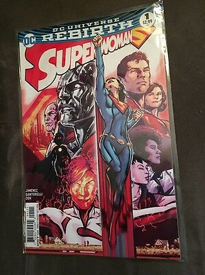 Superwoman # 1-  6, first six issues of hit new DC series,   2016, NM