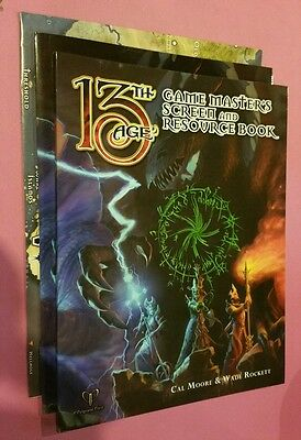 Gamemasters Screen And Resource Book - 13Th Age Rpg Roleplaying Pelgrane Dnd D&d