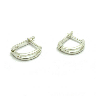 Sterling silver earrings solid 925 Empress E000625