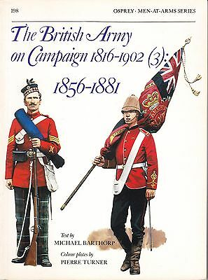 British Army on Campaign Vol 3 1856–1881 Osprey Men At Arms 198