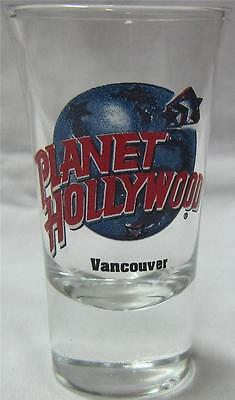 Planet Hollywood Vancouver Shot Glass