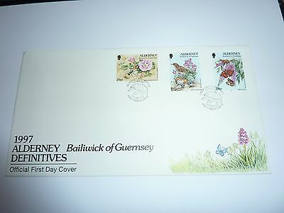 Alderney Definitives Part 3 1997 FDC