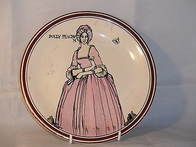 Grays Pottery Hand Painted Art Deco? Polly Peachum Plate Pattern No A9396/1? A/F