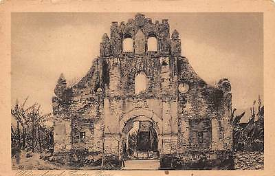 COSTA RICA ~ RUINS OF AN OLD CHURCH ~ used 1926