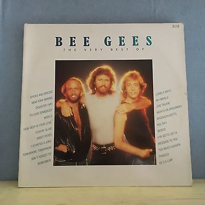BEE GEES The Very Best Of 1986 Double Vinyl LP EXCELLENT CONDITION greatest Hits