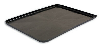 Oil Drain Drip Pan Tray  (609mm x 457mm x 19mm) Spout at corner - Protect Floors