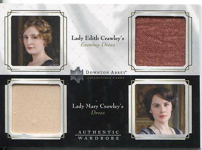 Downton Abbey Staffel 1&2 Doppeltes Garderobe Karte Lady Edith/cora Crawley Dw01