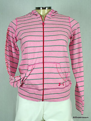 Under Armour Youth Girl's UA Tri-Blend Full Zip Large L NWT
