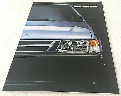 1986 brochure SAAB 9000 Original Dealer Sales from New York Auto Show