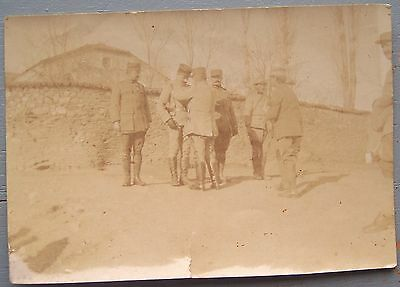 Photo Militaria Remise De Medaille General Dardanelles Ottoman Ww1 1915