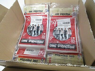 600 Packs of One Direction Party bags - 8 bags per pack  - Wholesale  Job Lot