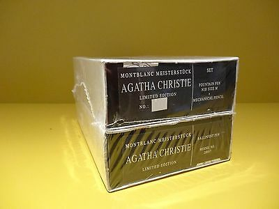 SEALED Montblanc 1993 Writers Edition Agatha Christie Set LIMITED EDITION