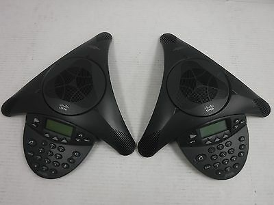 Lot of 2 CISCO POLYCOM IP CONFERENCE STATION, CP-7936, 2201-06652-602