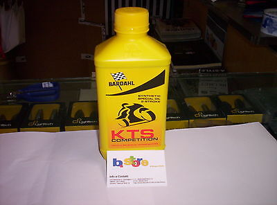 3 Litri BARDHAL KTS Competition Olio Miscela Moto Scooter ecc con Octane Booster