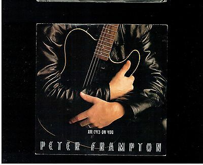 Peter Frampton All Eyes On You Ps 45 1986