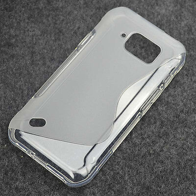 For Samsung Galaxy S6 Active G890 White Clear Skidproof Gel skin case Cover