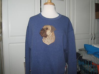 New Bullmastiff Embroidered Sweatshirt Add Name For Free