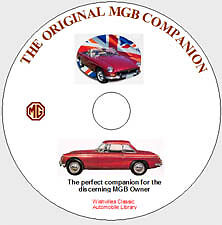 The Original MGB Companion DVD ROM