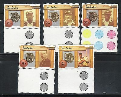 Barbados 1988 West Indian Cricket Set With Controls Mnh