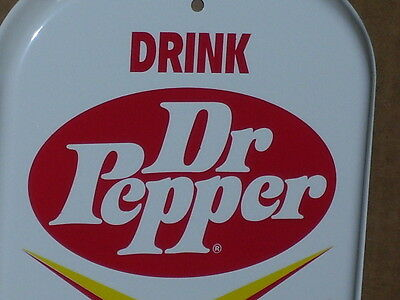 "DR PEPPER - Hot Or Cold - 6"" Wide X 16"" Tall - Wall Thermometer -NEVER BEEN USED"
