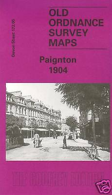 Map Of Paignton 1904