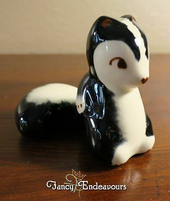 Robert Simmons California Pottery Skunk Figurine Pewey