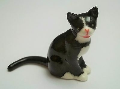 chat miniature en porcelaine,collection,animal,, cat, kat, poes   B2-22